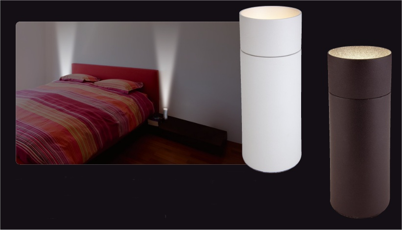 Floor or table uplighter with led lamp for Floor uplighters
