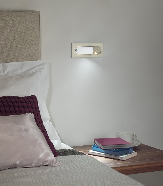 Bedside Reading Lamps Adorable Of Flush LED Bedside Reading Light Photos