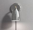 Metal Wall Light with Trailing Lead