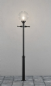 Clear Glass Shade Outdoor Lamp Post- Saving you �31.20