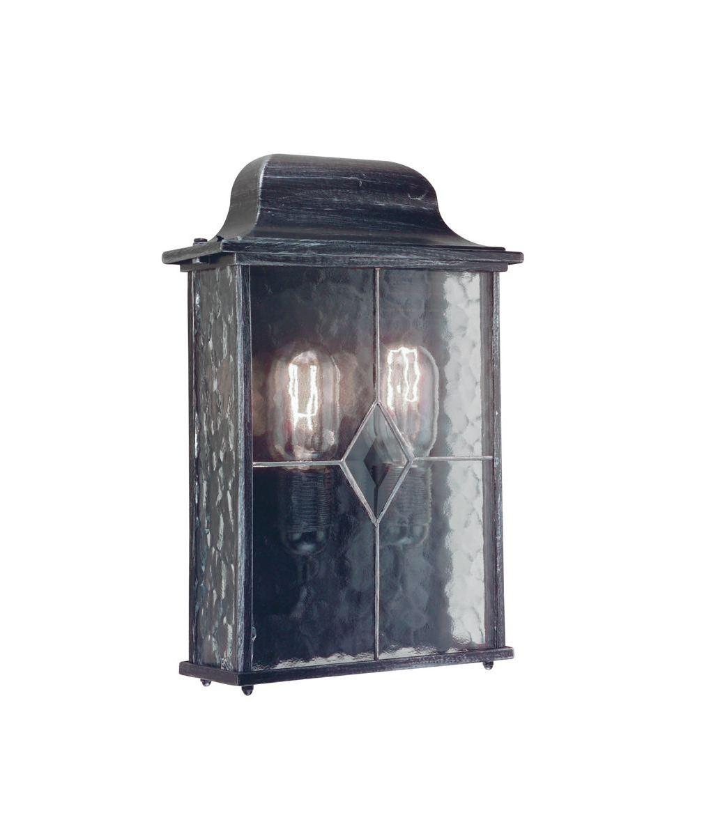 Twin Lamp Exterior Wall Light - Shallow Depth- Saving you �8.40