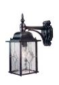 Leaded Glass Wall Lantern - down- Saving you �8.40