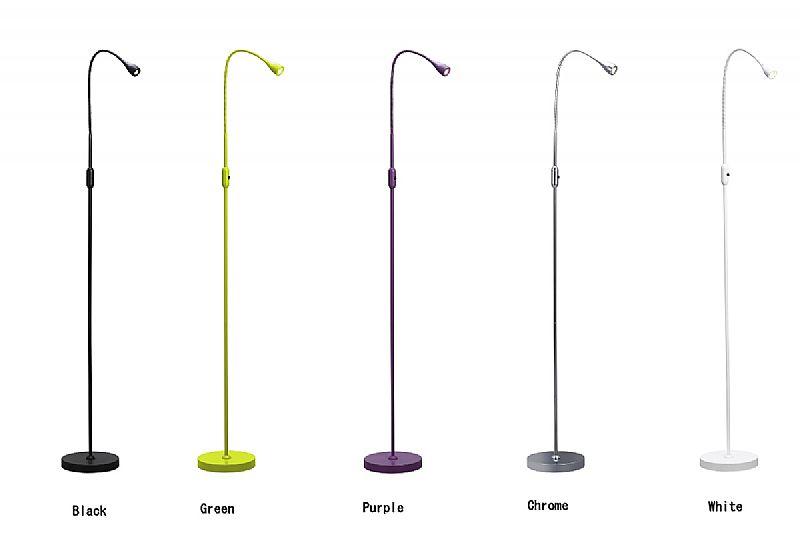 Floor Standing Uplighters Led: LED Skinny Minimalist Reading Lamp