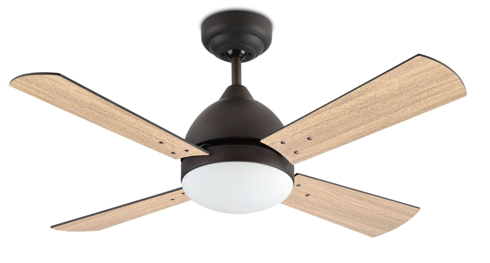 Large Ceiling Fan Complete With Light D1066mm