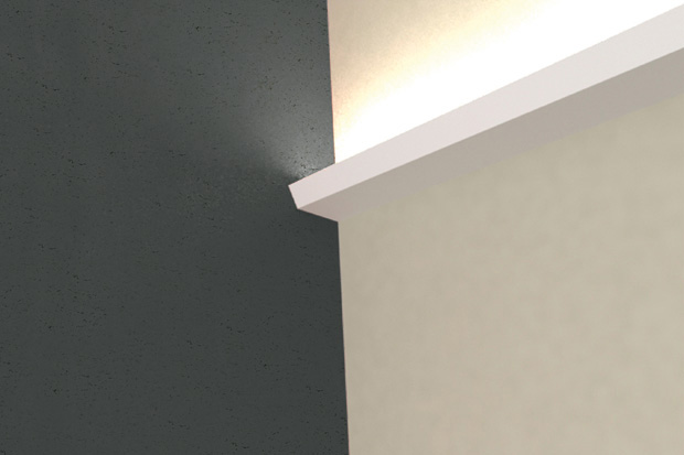 Led Plaster Cornice Uplight Ligne