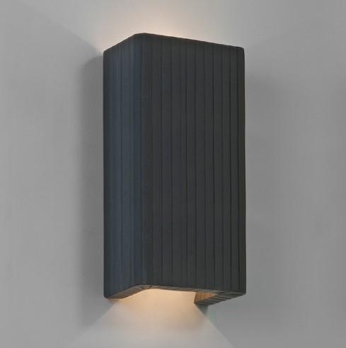 Pleated Fabric Interior Wall Light