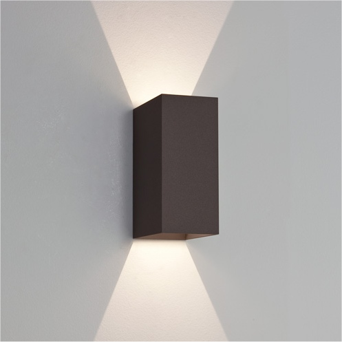 Black Up And Down Led Wall Lights : LED Up & Down Exterior IP65 Wall Light