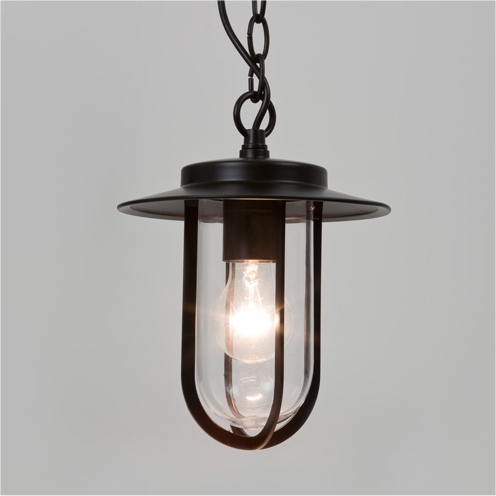Rustic exterior pendant for Front porch hanging light