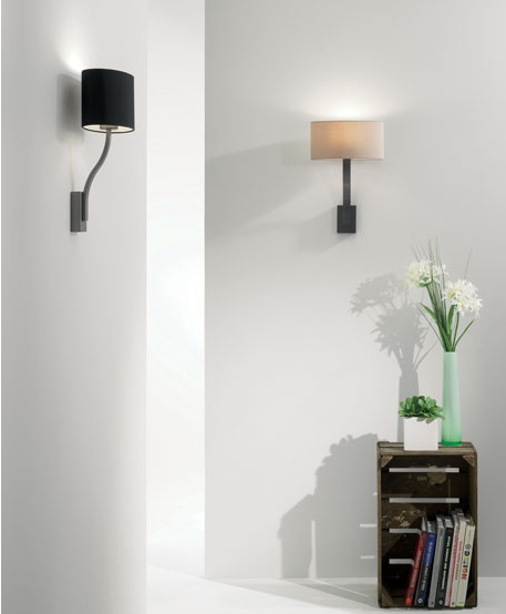 Wall Lights For Large Spaces : Sleek Small Space Wall Light