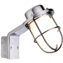 Marine Styled Wall Light- Polished Chrome or Black