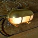 Marine Brass Eyelid Wall Light