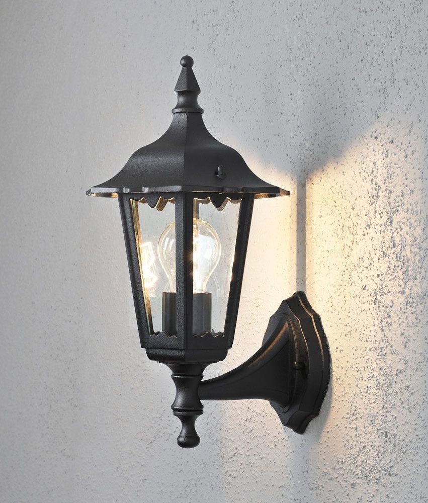 Matt Black Classic External Wall Lamp- Saving you �4.20