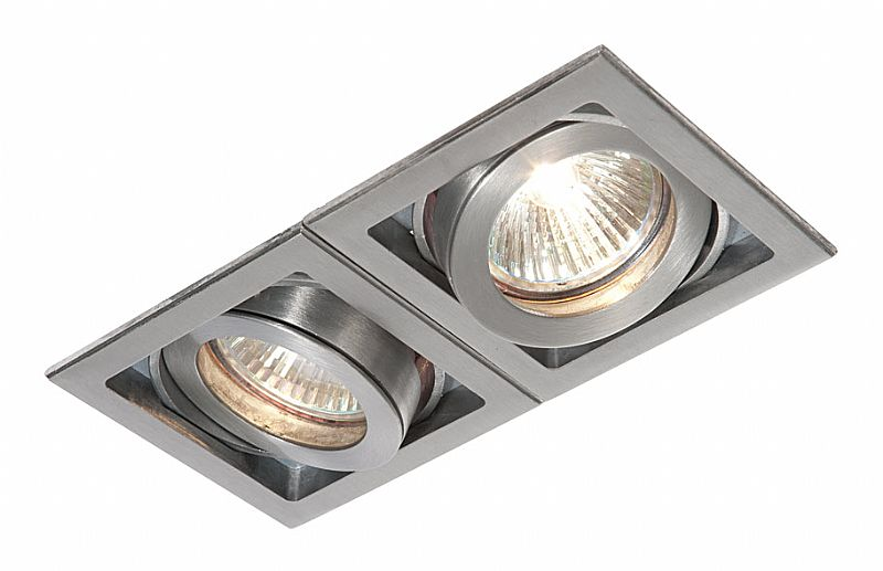 Modular Downlight for 12v or mains lamps