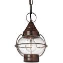 Old Brass Fishermans Hanging Lantern