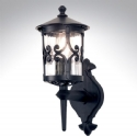 Ornate Iron Exterior Lantern - Up