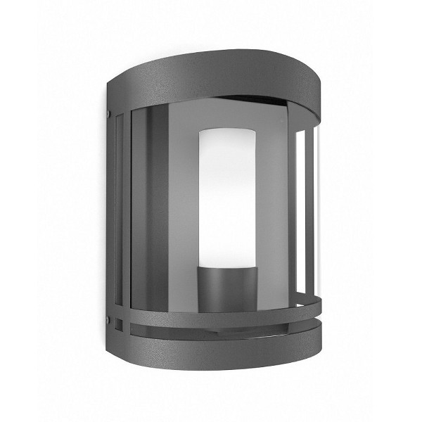 Quality Outside Wall Lights : Quality Black Finish Exterior Wall Light