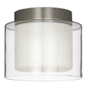 Twin Glass Ceiling Light - Diffused sophistication- Saving you �26.43