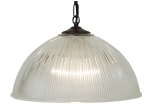 Prismatic Glass Dome Pendant - 2 sizes