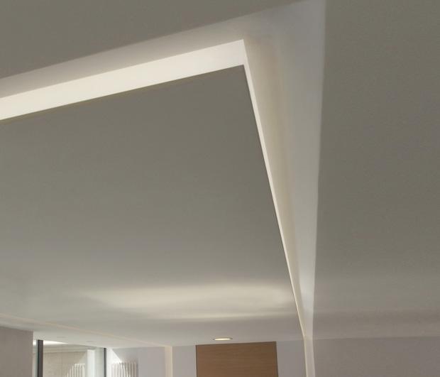 Recessed Frame Lighting Profile
