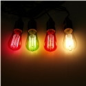 Filament Bulbs - Colourful Retro Design