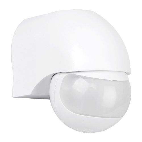Double Insulated Outdoor Security Lights: IP44 Outdoor PIR 180º Security Motion Sensor