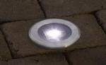 Stainless Steel Solar Deck Light - Saving you �2.60