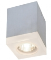 Square Glass Detailed Surface Mounted Spotlight