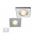 IP65 Square Frosted Glass Downlight - 12v