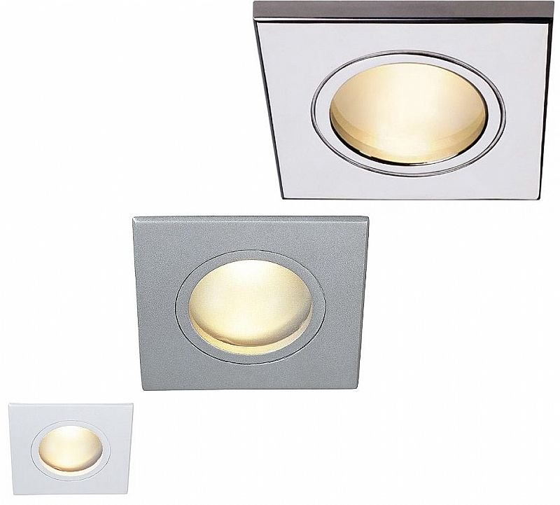Ip65 Square Frosted Glass Downlight 12v