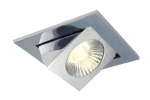 Square Scoop Downlight - 3 finishes- Saving you �3.52