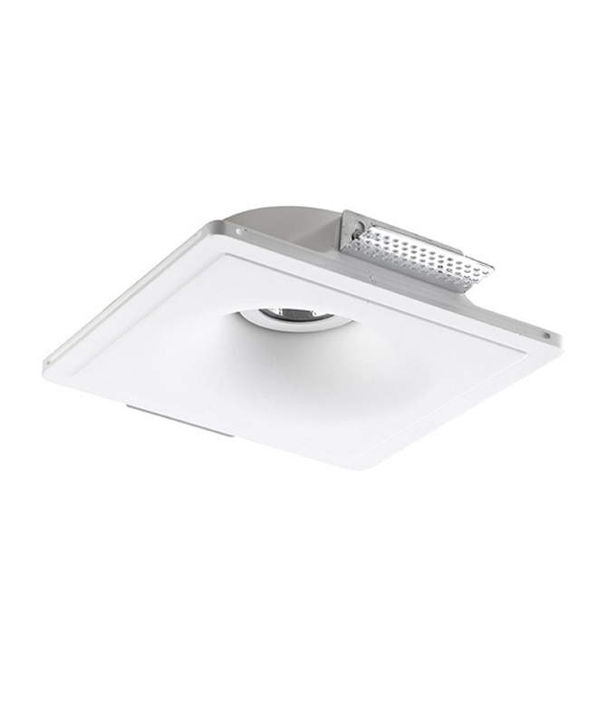 Trimless Plaster-in Downlight - Large Curve