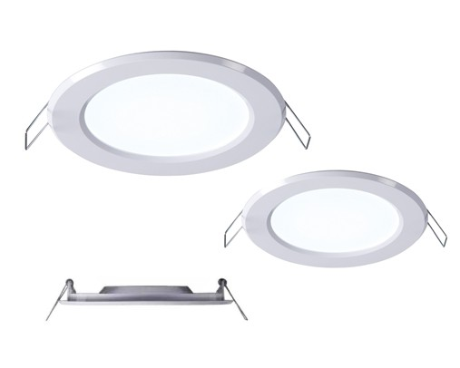 super thin led downlight two sizes. Black Bedroom Furniture Sets. Home Design Ideas