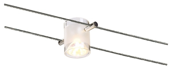 Met MR16 Tension Wire Lamp