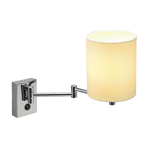 Wall Lamps Extendable : Traditional Extendable Wall Lamp with Shade