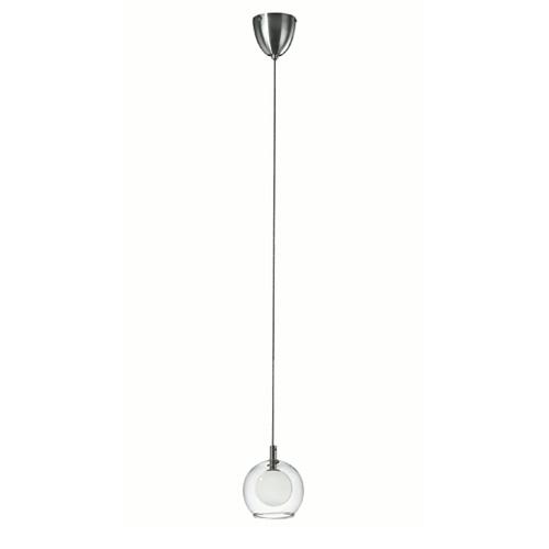 Double Glass Single Ball Hanging Lamp