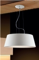 Lacquered Steel Large Pendant Light