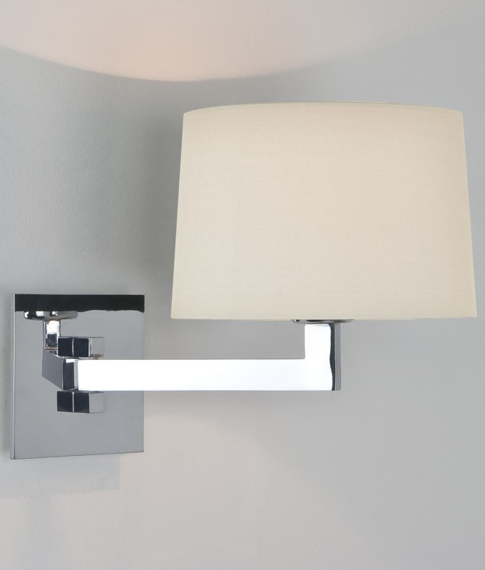 Original  LED Illuminated Magnifying Bathroom Mirror With Extending Arm 200mm