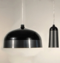 Glaze Black & Charcoal Pendant by Innermost