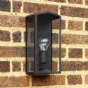 Simple Black Outdoor Wall Light H:320mm- Saving you �27.00