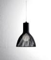 Steel Rod Light Pendant - 17cm or 26cm diameter