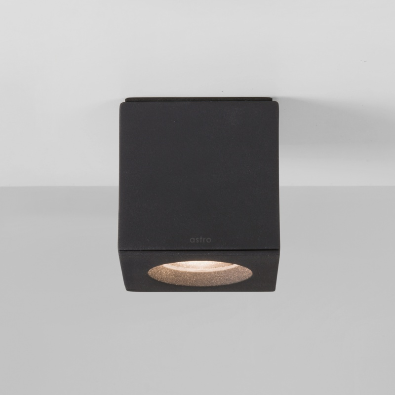 Square ip65 rated surface mounted spotlight for Luminaire salle de bain art deco