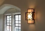 Box Wall Light - Arts & Craft Design