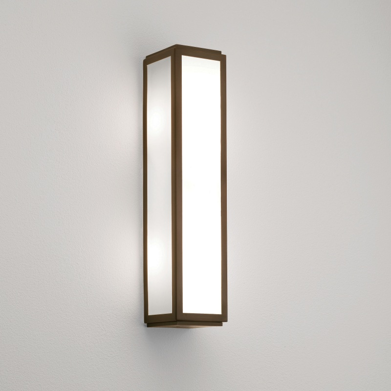 Art Deco Wall Lights : Art deco style bathroom wall light