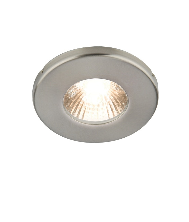 Brushed Chrome Mains Downlight