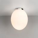 Opal Glass & Chrome Bathroom Light IP44