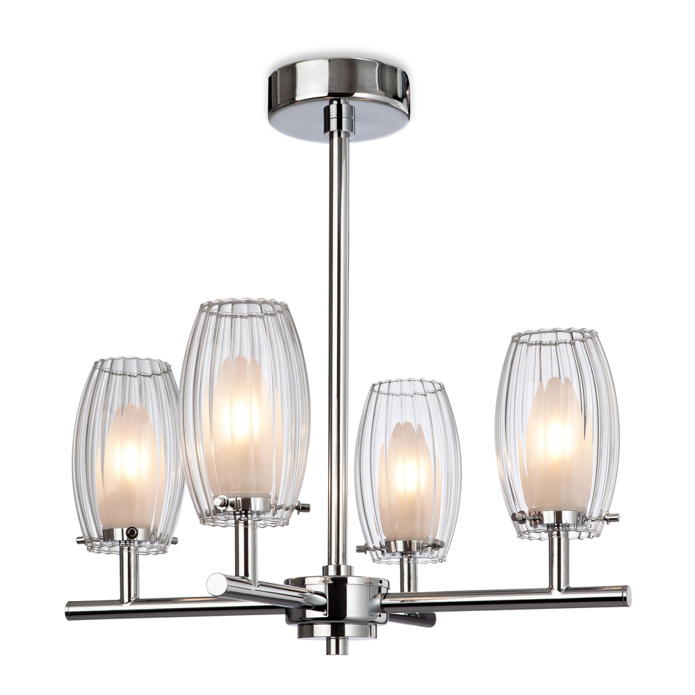 Pendant Light Suitable For Bathroom : Four light bathroom chandelier