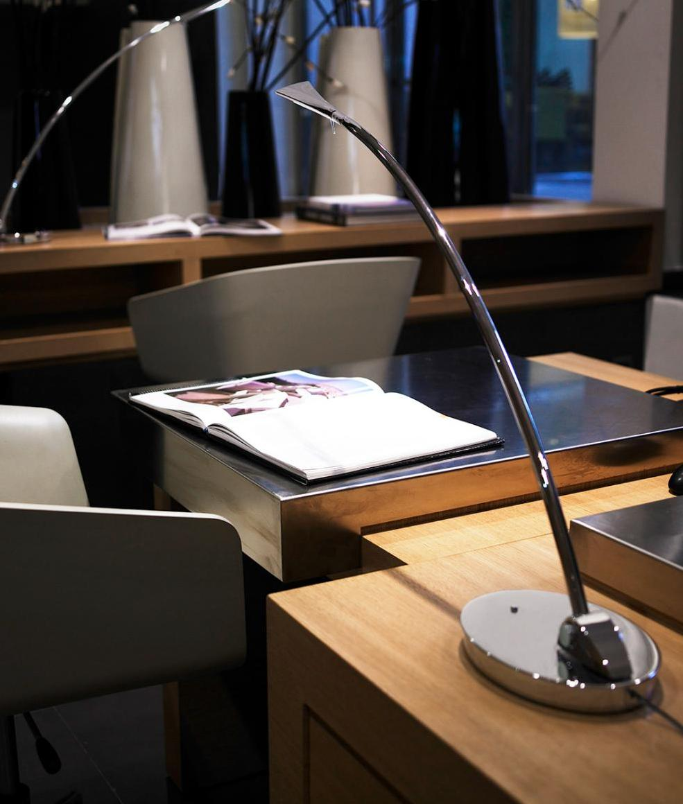 LED Long Reach Table Lamp