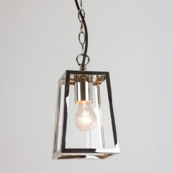 Ext Hanging Lantern Clear Glass