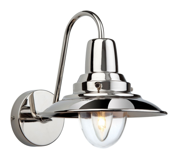 Chrome Internal Wall Lights : Fisherman Style Wall Light - Interior Use