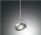 LED Chrome Adjustable Pendant